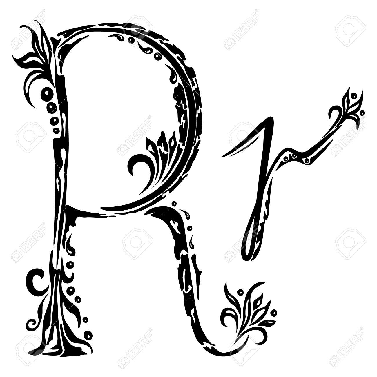 صورة صور حرف r , خلفيات موخرفة لحرف r