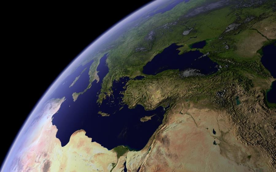 بالصور صور الكرة الارضية , شكل تصورى لكوكب الارض 2034 11