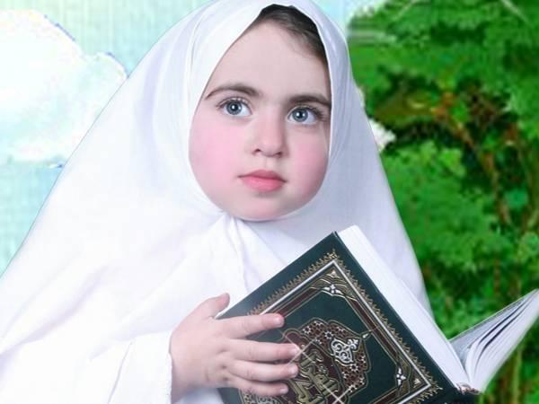 صوره صور اطفال محجبات , يا حلاوة ولادنا بالحجاب الشرعى