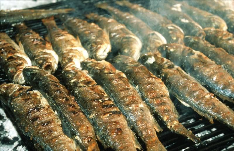 صوره صور سمك مشوي , الفسفور و جمال الماكولات البحرية