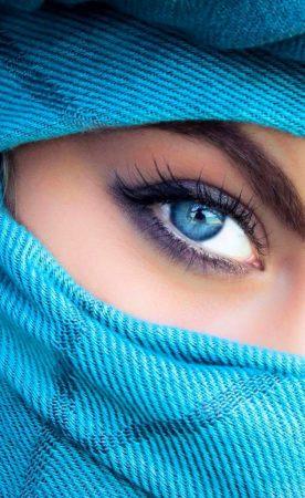 بالصور صور عيون زرقاء , صفاء البحر فى عيونك الحلوة 2633 5