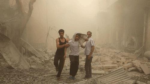 بالصور صور حلب تحترق , صور تعبيرية تضامنا مع ماساة سوريا 2657 1