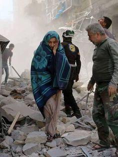 بالصور صور حلب تحترق , صور تعبيرية تضامنا مع ماساة سوريا 2657 2
