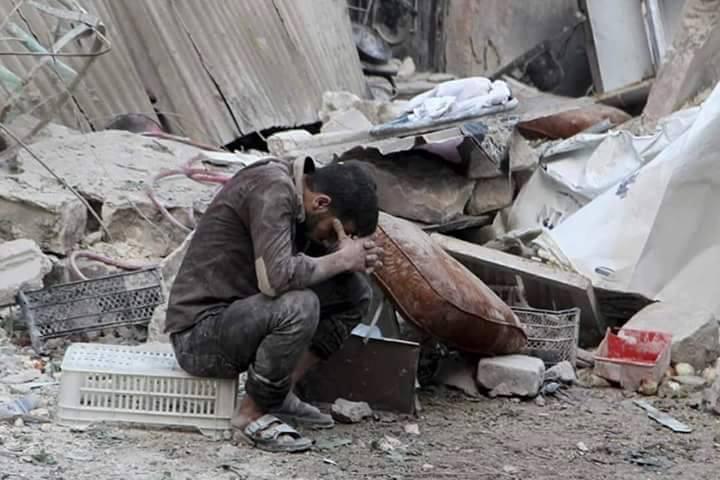 بالصور صور حلب تحترق , صور تعبيرية تضامنا مع ماساة سوريا 2657 3