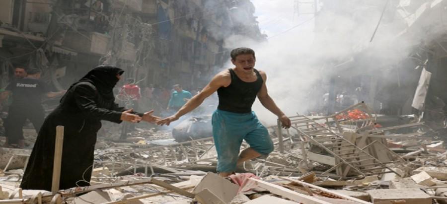 بالصور صور حلب تحترق , صور تعبيرية تضامنا مع ماساة سوريا 2657 5
