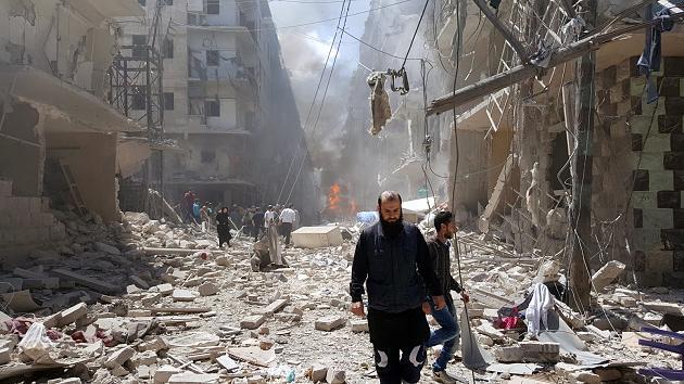 بالصور صور حلب تحترق , صور تعبيرية تضامنا مع ماساة سوريا 2657 6