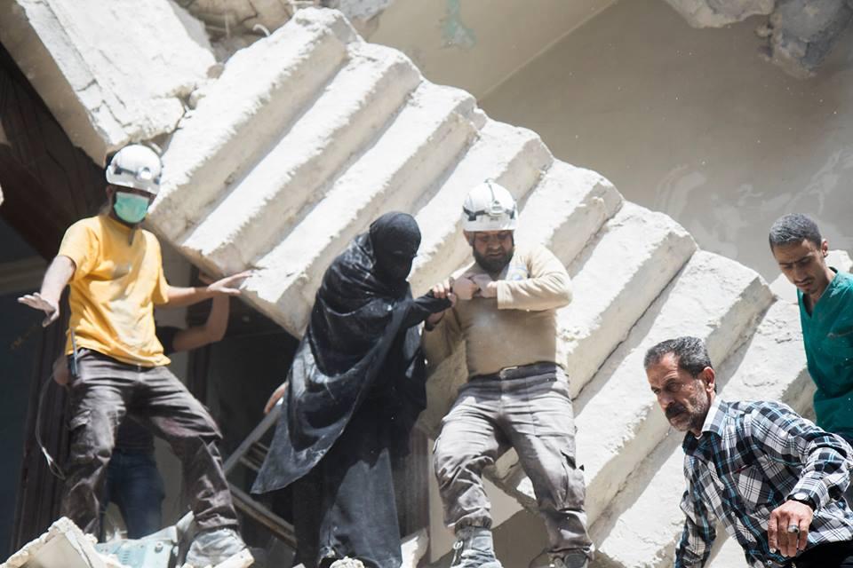 بالصور صور حلب تحترق , صور تعبيرية تضامنا مع ماساة سوريا 2657 7