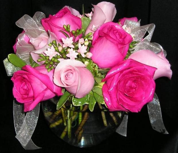 بالصور صور اجمل الورود , ابعت لحبايبك بوكية ازهار يجنن 2660 3