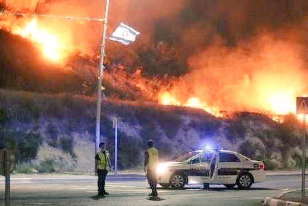 بالصور صور حريق اسرائيل , فاجعة فى الدولة الصهيونية شوف انتقام ربنا 2737 2