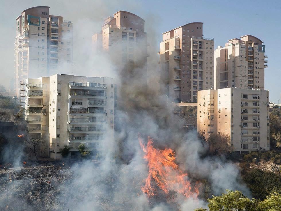 بالصور صور حريق اسرائيل , فاجعة فى الدولة الصهيونية شوف انتقام ربنا 2737 7