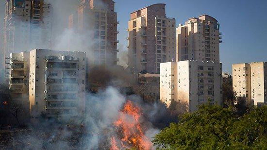 بالصور صور حريق اسرائيل , فاجعة فى الدولة الصهيونية شوف انتقام ربنا 2737 8