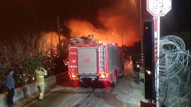 صورة صور حريق اسرائيل , فاجعة فى الدولة الصهيونية شوف انتقام ربنا