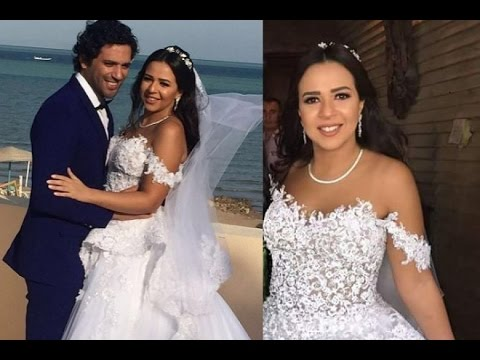 صوره صور افراح الفنانين , زفاف مشاهير النجوم