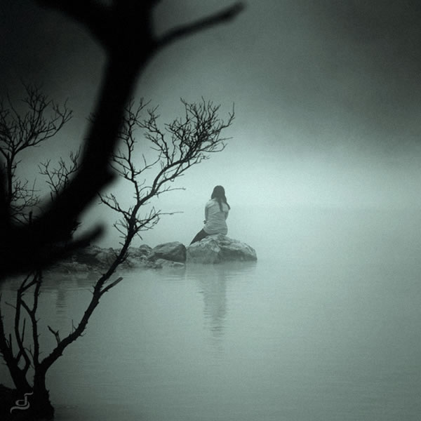 صور صور عن الوحده , بوستات حزينة ومؤلمة عن العزلة