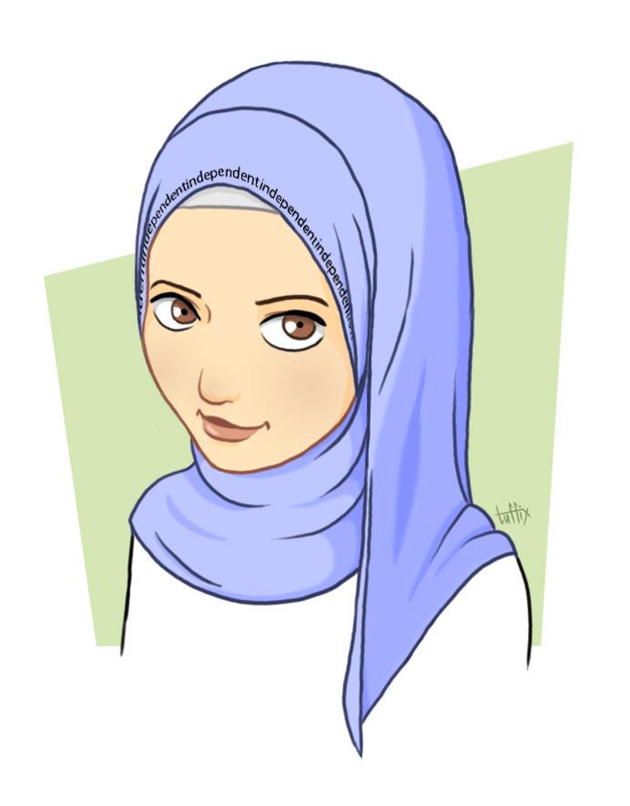 بالصور صور انمي محجبات , بوستات انمي اسلامية 1820 3