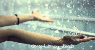 صور عن المطر , انظر الي السماء واحمد ربك وادعي