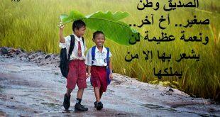 صور معبرة عن الصداقة , الصديق الوافي لايمكن تعويضه