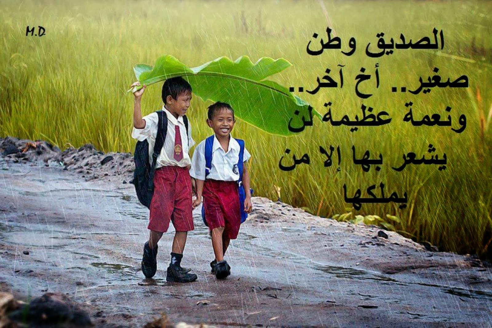 صور صور معبرة عن الصداقة , الصديق الوافي لايمكن تعويضه