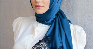 صورة صور محجبات جميلات , اطلالة رائعة ومميزة للمراة بحجابها