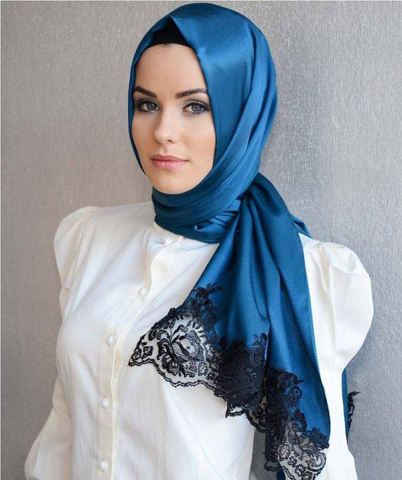 صوره صور محجبات جميلات , اطلالة رائعة ومميزة للمراة بحجابها