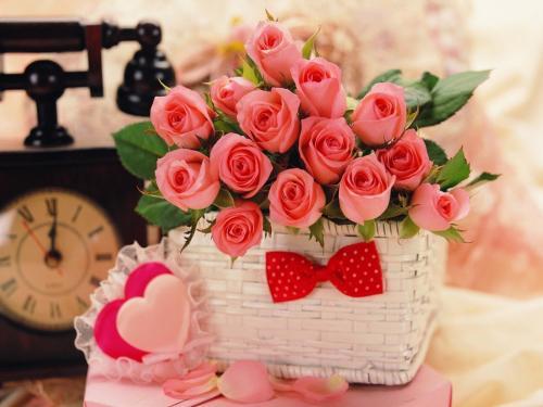 صوره صور باقات ورد , زيني بيتك باحلي بوكية من الزهور