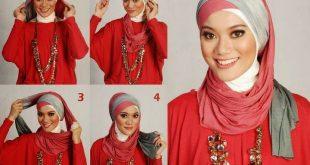 صوره صور لفات حجاب , تالقي برابطة حجابك الجديدة حتي تكوني متميزة