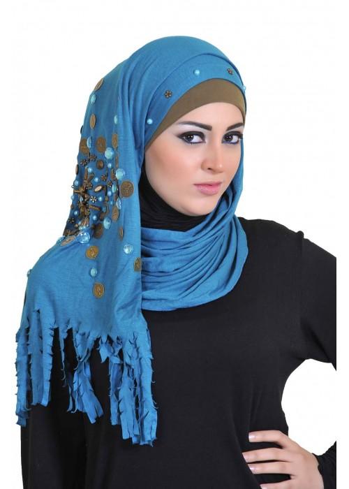 بالصور صور لفات حجاب , تالقي برابطة حجابك الجديدة حتي تكوني متميزة 2313 8