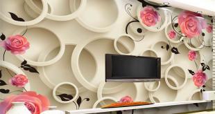 صور ورق جدران , ديكورات و تصميمات مودرن و متميزة علي الحوائط
