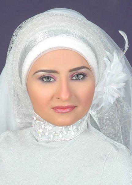 بالصور صور عرايس محجبات , كوني ملكة متالقة يوم فرحك بحجابك 2428 9