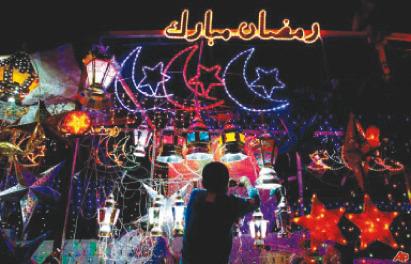 بالصور صور زينة رمضان , هل هلالك شهر مبارك علي الامة الاسلامية 2431 6