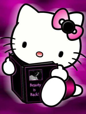 صور هيلو كيتي قطة جميلة بتعشقها كل البنات نايس
