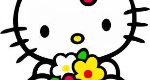 صورة صور هيلو كيتي , قطة جميلة بتعشقها كل البنات