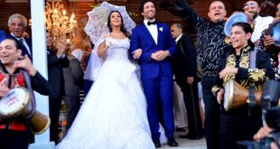 صور فرح ايمي سمير غانم , افرحي يا عروسة بعريسك وزغروطو يا حبايب