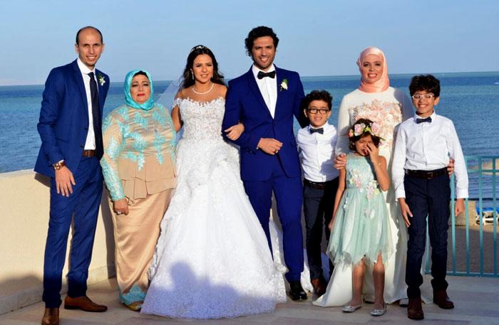 بالصور صور فرح ايمي سمير غانم , افرحي يا عروسة بعريسك وزغروطو يا حبايب 2554 9