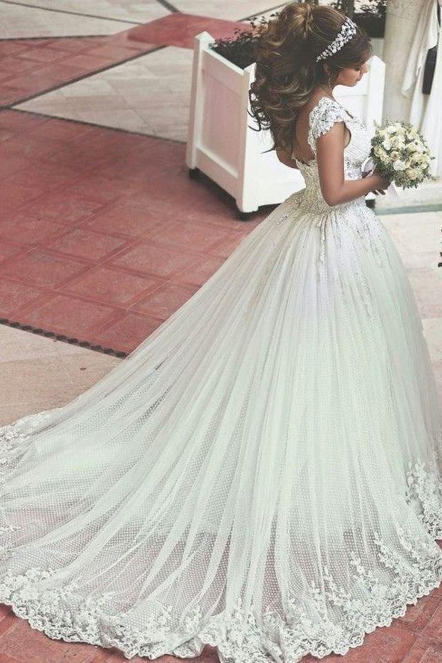 بالصور صور فساتين عرايس , افرحي يا عروسة و هيصي لجمال فستانك 2344 2