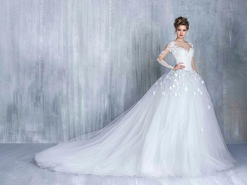 بالصور صور فساتين عرايس , افرحي يا عروسة و هيصي لجمال فستانك 2344 4