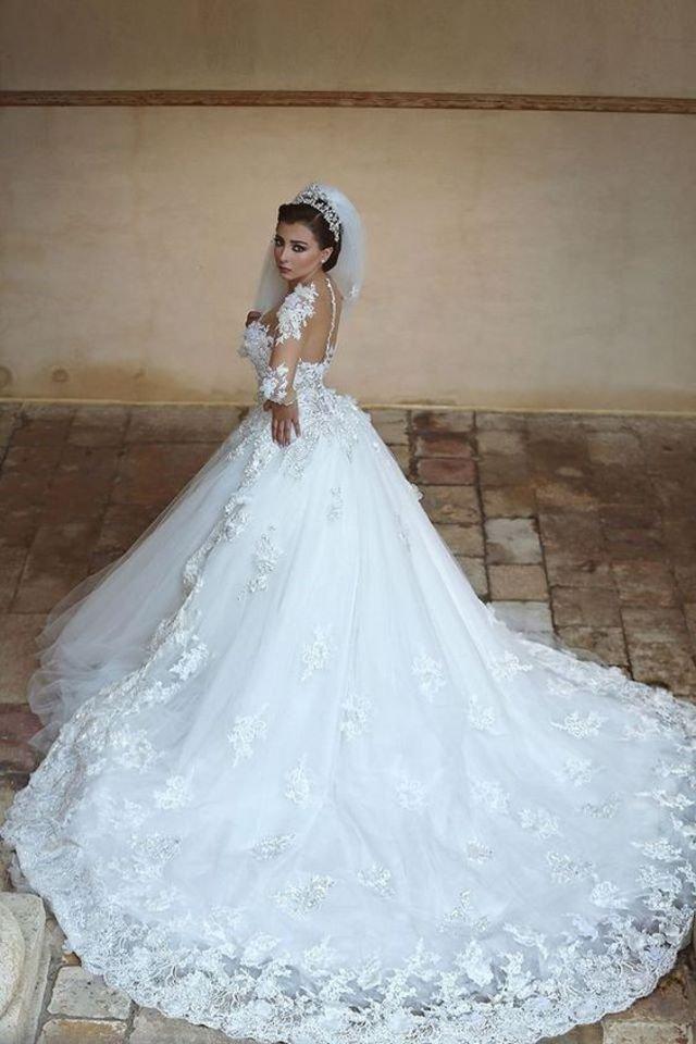 بالصور صور فساتين عرايس , افرحي يا عروسة و هيصي لجمال فستانك 2344