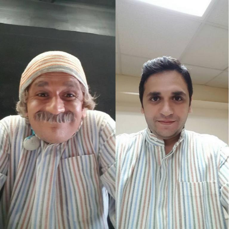 بالصور صور مصطفى خاطر , ممثل مصري مشهور 1987 2