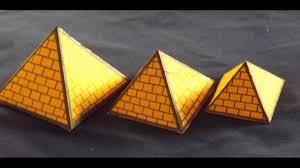 بالصور كيفية عمل مجسم الاهرامات , ابداعات بالورق الفوم unnamed file 14