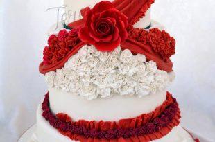 بالصور طريقة عمل تورتة عيد ميلاد بسيطة وسهلة , صور عمل كيكة عيد ميلاد 4236 2 310x205