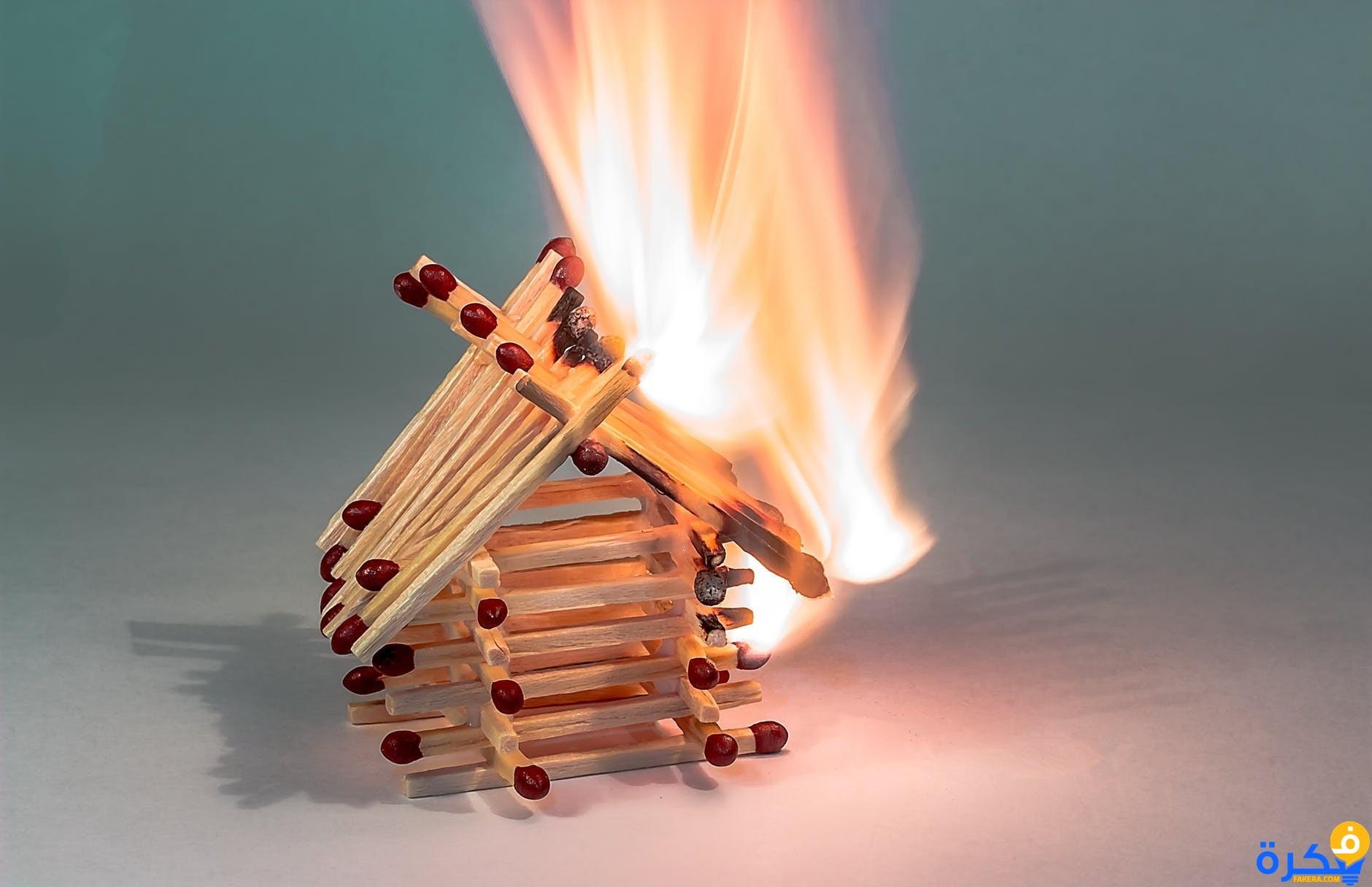 صور حريقه في المنام الله يرزقه الفردوس اللي يفسره , تفسير حلم النار في المنام
