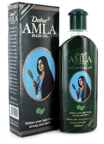 صورة طريقة استخدام زيت دابر املا لتطويل الشعر , كيفية وضع زيت دابر املا الهندي على الشعر