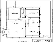 صور مخطط منزل 100 متر , مجموعة من الخرائط والمخططات لمساحات مائة متر