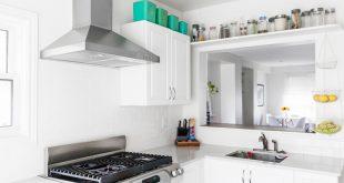 صور ديكور مطبخ صغير المساحة , مطابخ مودرن لاعلى تشطيب ومساحات صغيرة