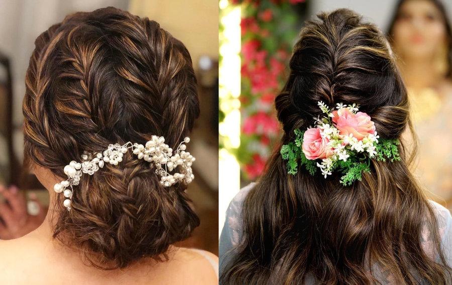 صورة صور شعر عروس , احلى واجمال اشكال تسريحات شعر يوم الزفاف