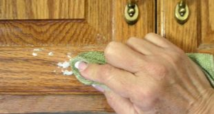كيفية تنظيف خشب المطبخ من الدهون , تخلصي من دهون المطبخ