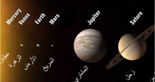 ما هي كواكب المجموعة الشمسية , تعرف علي اسماء الكواكب