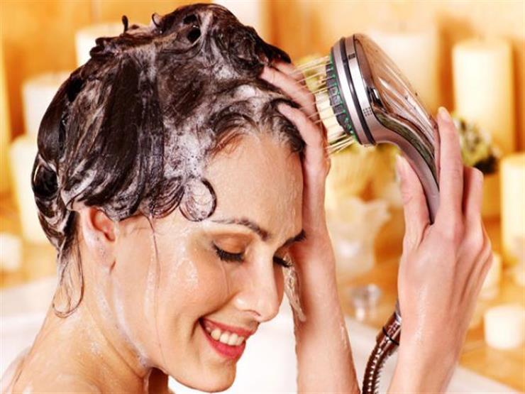 صورة طرق غسل الشعر , انواع الشعر وطرق غسلها