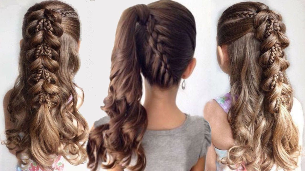 صورة تسريحات للشعر الطويل للبنات المراهقات , سرحي شعرك وابقي مميزه