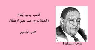 صورة كامل الشناوي قصائد , اروع القصائد العربية